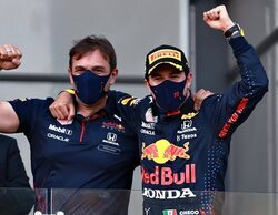 Sergio Pérez encuentra la gloria en un final de locura en Azerbaiyán; Vettel y Gasly completan el podio