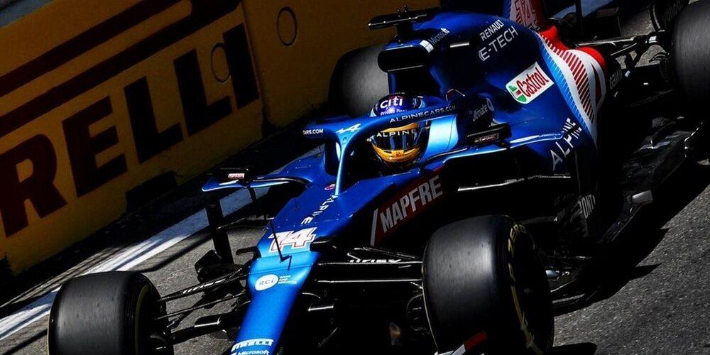 """Fernando Alonso: """"Las últimas vueltas fueron muy divertidas, intentamos atacar y ser agresivos"""""""