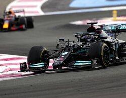"""Lewis Hamilton: """"Tenían una buena estrategia y les funcionó muy bien, fue una buena carrera"""""""