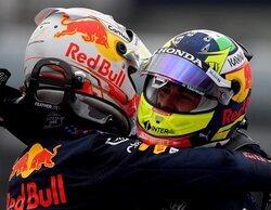 """Verstappen: """"Ganar esta carrera ha sido un esfuerzo increíble; es fantástico estar en el podio con Checo"""""""