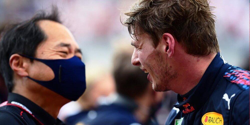 """Honda, tras el doble podio de Red Bull en Francia: """"Es un resultado alentador para las próximas carreras"""""""