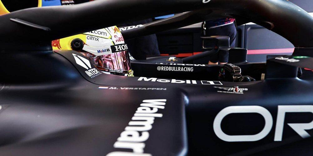 Max Verstappen finaliza líder en las dos primeras sesiones de entrenamientos en el Red Bull Ring