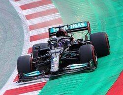 """Lewis Hamilton: """"Red Bull está lanzando buenos golpes, tenemos que mantener la guardia alta"""""""