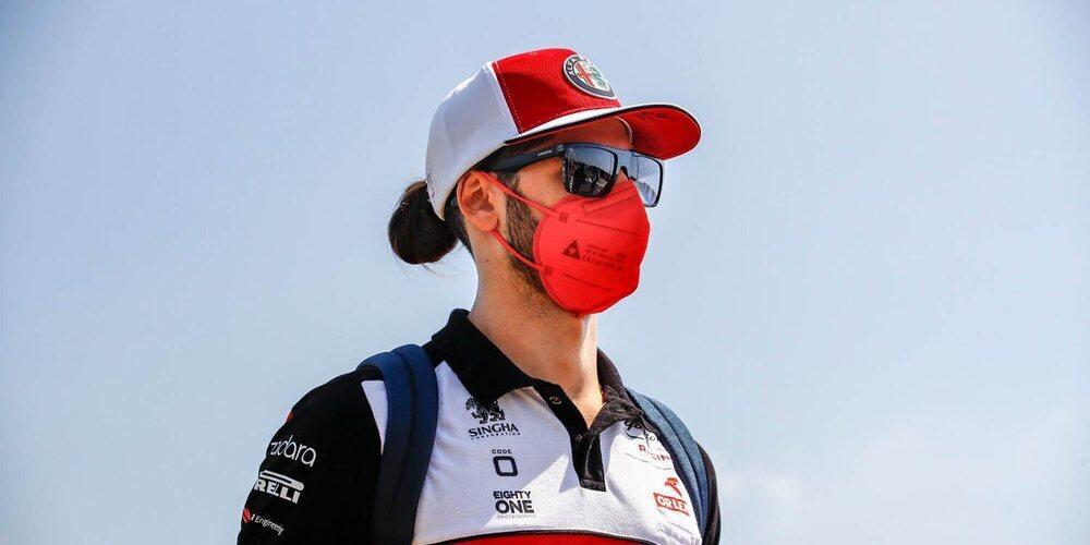 """Giovinazzi: """"Fuimos lo suficientemente fuertes para llegar a Q2; la Q3 estaba demasiado lejos"""""""