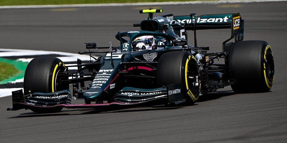 """Sebastian Vettel: """"Podíamos haber estado más arriba, el coche parecía competitivo"""""""