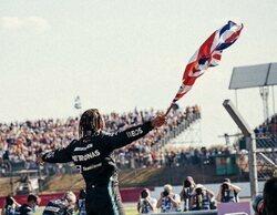 Silverstone rinde honores a Lewis Hamilton que se lleva la octava victoria en casa