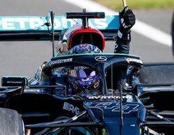 """Hamilton: """"No importa si estuve de acuerdo con la penalización, la acepté y seguí trabajando"""""""