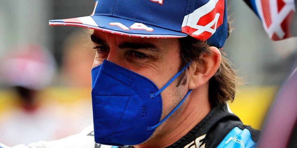 """Alonso, sobre el formato de sprint: """"Está hecho para los aficionados, hay que preguntarles a ellos"""""""