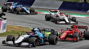 """Russell: """"Sobre el papel tenemos el noveno coche más rápido en cada sesión, excepto en la clasificación"""""""