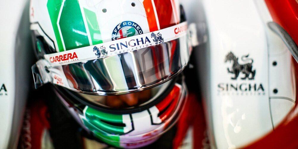 """Antonio Giovinazzi: """"No ha sido el día más sencillo, pero hemos tenido una buena recuperación"""""""