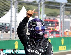 """Lewis Hamilton: """"Es excelente haber obtenido la primera línea de la parrilla para nuestro equipo"""""""