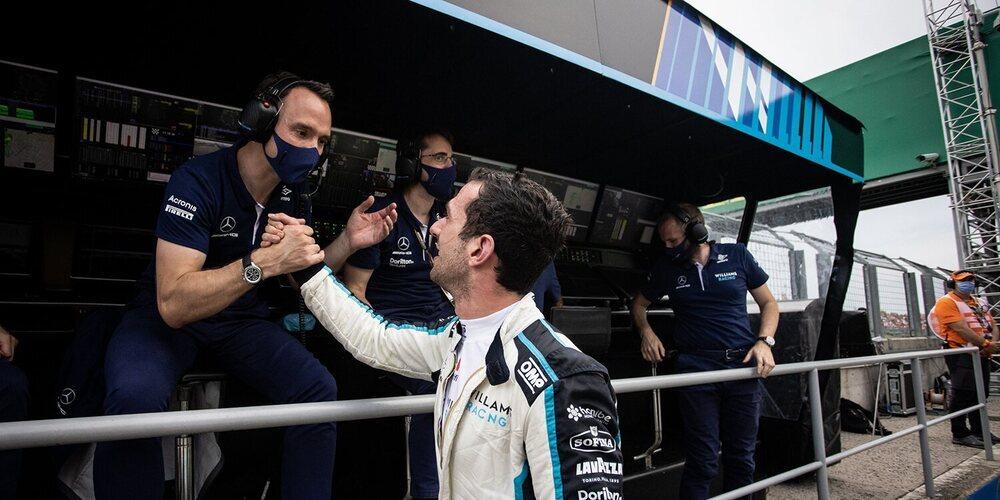 """Latifi: """"Tener a ambos coches en los puntos y escalar a la 8ª posición en el Campeonato es fantástico"""""""