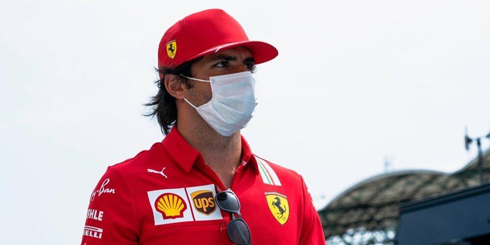 """Carlos Sainz: """"Perder un par de posiciones en la primera parada nos ha salido muy caro"""""""