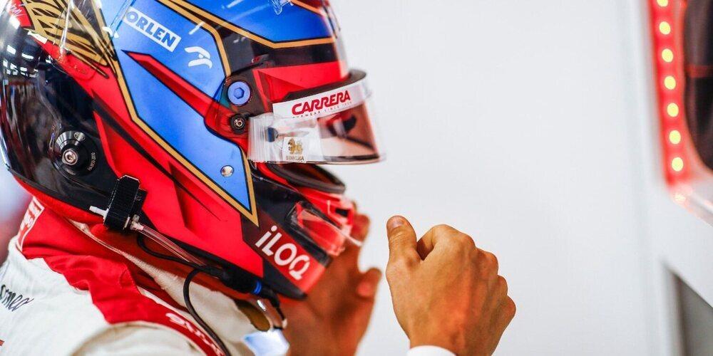 "Kimi Räikkönen: ""Remontar desde atrás fue demasiado complicado"""