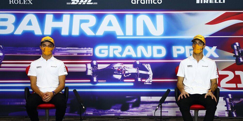 """Norris: """"Está claro que quiero que Ricciardo lo haga bien, es lo que necesitamos para el Campeonato"""""""
