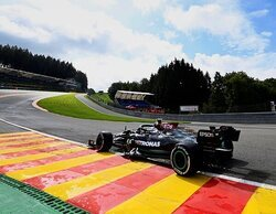 Valtteri Bottas asesta el primer golpe en los Libres 1 del GP de Bélgica