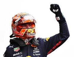 La lluvia brinda un gran espectáculo en la sesión de clasificación de Bélgica; Verstappen pole, Russell 2º