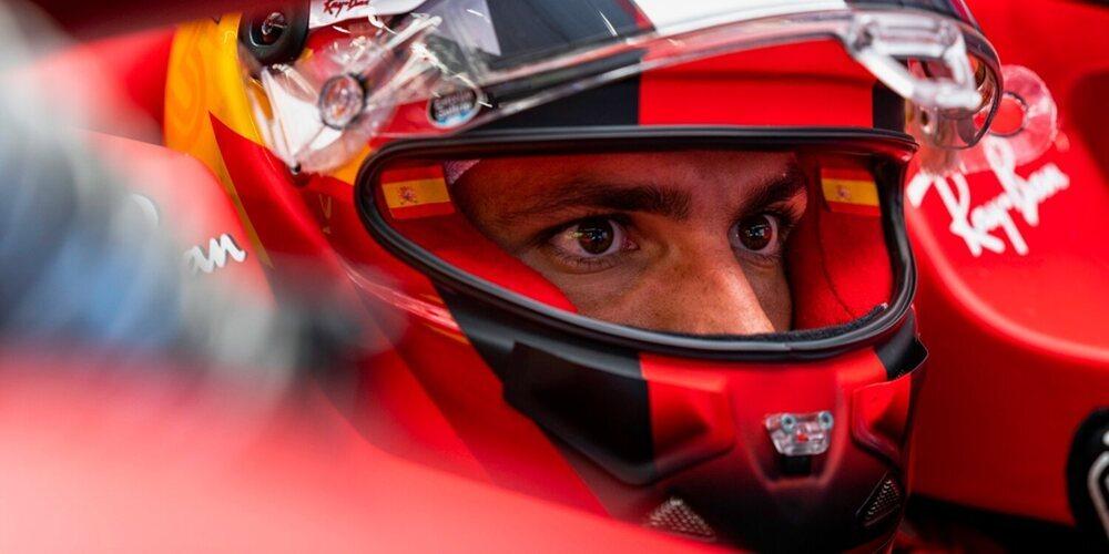 """Carlos Sainz: """"No estoy contento; nos ha costado encontrar la temperatura de los neumáticos"""""""