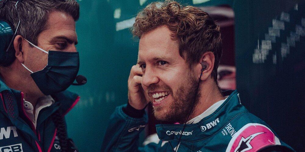 """Vettel: """"Podemos estar contentos con el quinto en la parrilla; podemos luchar por un buen resultado"""""""