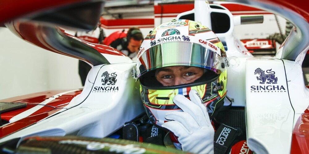 """Frédéric Vasseur, de Pourchaire: """"Théo puede convertirse en uno de los mejores pilotos del futuro"""""""