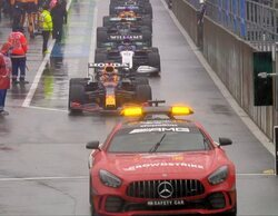 Max Verstappen se lleva la (no) carrera más corta de la historia en 4 horas de espera innecesarias