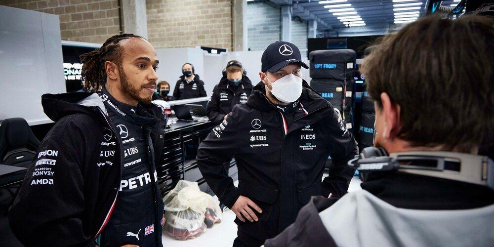 """Lewis Hamilton: """"Creo que hubiera sido una gran carrera si no hubiese llovido tan fuerte"""""""
