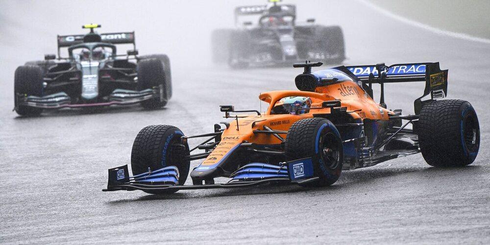 """Ricciardo: """"Esperábamos tener la carrera y, obviamente, no sucedió; no es culpa de nadie"""""""