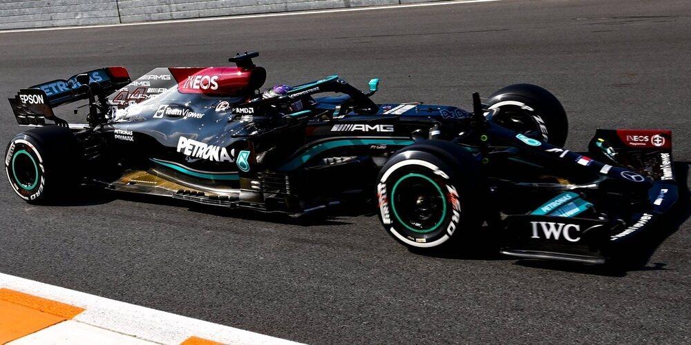 """Lewis Hamilton emborrona la marea naranja en unos primeros Libres """"al sprint"""""""