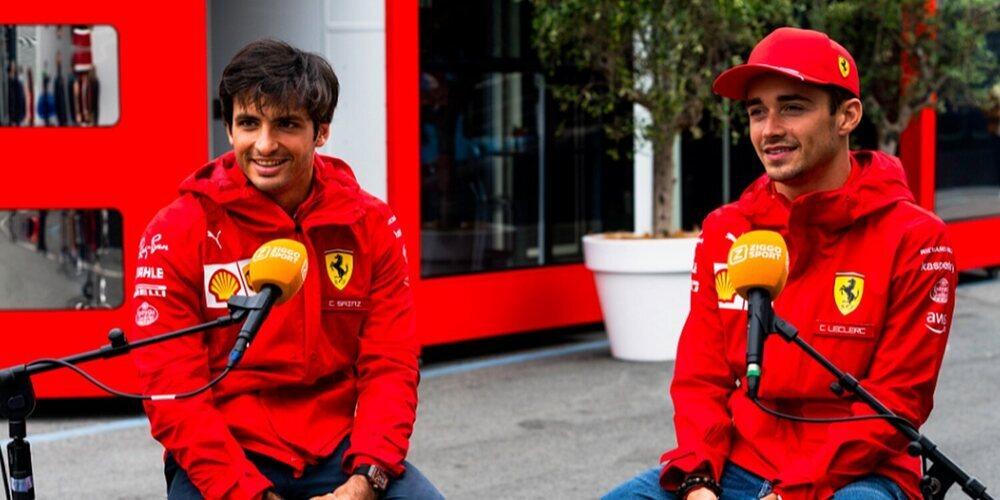 """Sainz: """"El coche ha ofrecido buenas sensaciones y ha sido un viernes positivo para nosotros"""""""