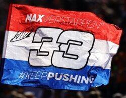 """Max Verstappen: """"Es increíble ver a la gente pasar el mejor momento de sus vidas en las tribunas"""""""