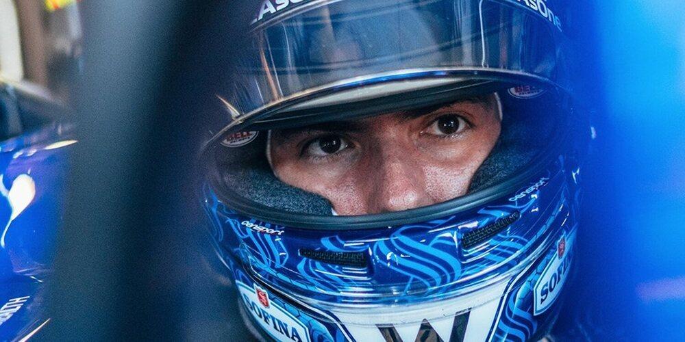 """Nicholas Latifi: """"Gestionar las gomas duras se convirtió en un desafío al final de la carrera"""""""