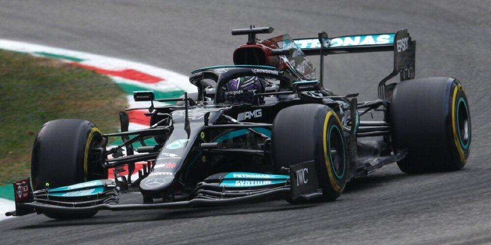 Lewis Hamilton lidera los únicos libres previos a la clasificación en el GP de Italia
