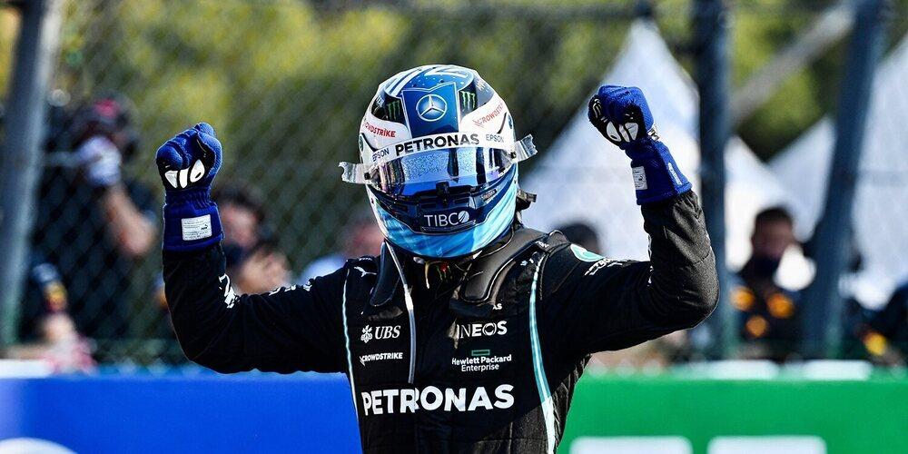 Bottas vence en la clasificación al sprint, pero no disfrutará su pole position por la penalización