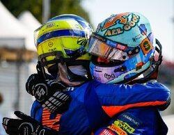 Vuelve el Shoey, Ricciardo se lleva la victoria en una carrera caótica, doblete épico de McLaren