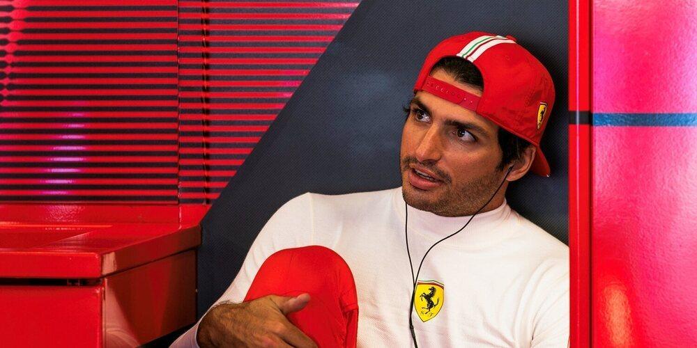 """Carlos Sainz: """"La sexta posición es un resultado decente, pero no estamos aquí para eso"""""""