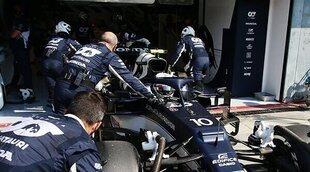 """Pierre Gasly: """"Tuvimos un comienzo brillante en Monza, es duro haber perdido a los dos coches"""""""