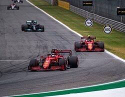 """Leclerc: """"Estamos luchando por posiciones que no nos hace soñar, pero confiamos en el futuro"""""""