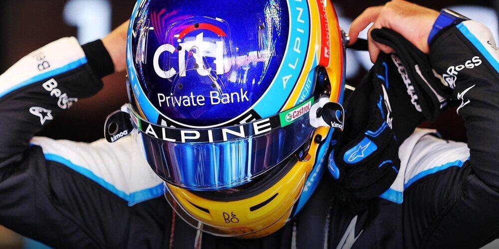 """Fernando Alonso: """"Ahora mismo Verstappen es el único con el que no me gustaría competir"""""""