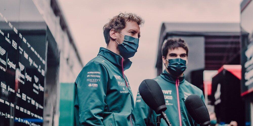 """Previa Aston Martin - Rusia: """"Buscaremos maximizar cada vuelta en la pista y luchar por los puntos"""""""