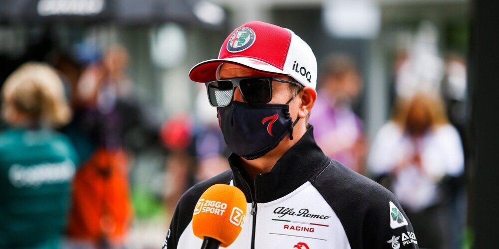 """Kimi Räikkönen: """"Tendremos que ver qué sucede en la clasificación"""""""