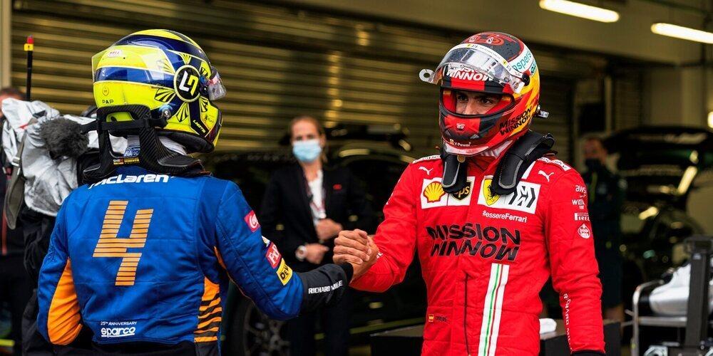 """Carlos Sainz: """"El graining de los neumáticos delanteros será un reto mañana"""""""