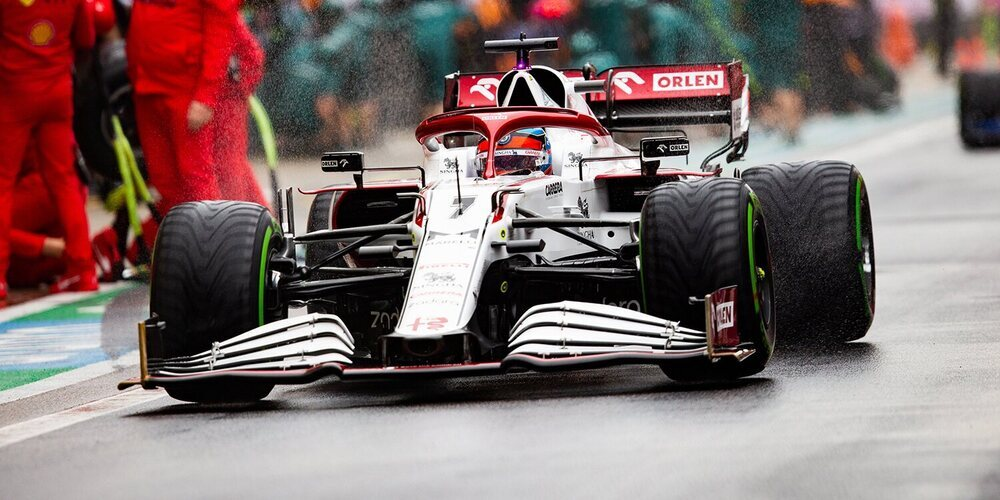 """Räikkönen: """"Aunque el equilibrio del coche era bueno, nos faltó agarre y no pudimos extraer más"""""""