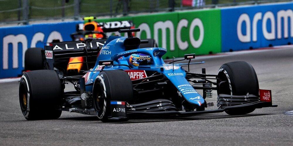 """Fernando Alonso: """"Hoy fue como lanzar una moneda al aire; era imposible de predecir"""""""