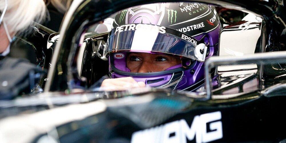 """Lewis Hamilton: """"Tengo mucho trabajo que hacer el domingo y necesito concentrarme"""""""