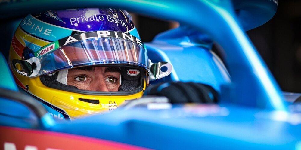"""Fernando Alonso: """"Creo que tenemos buenas opciones de sumar puntos mañana"""""""
