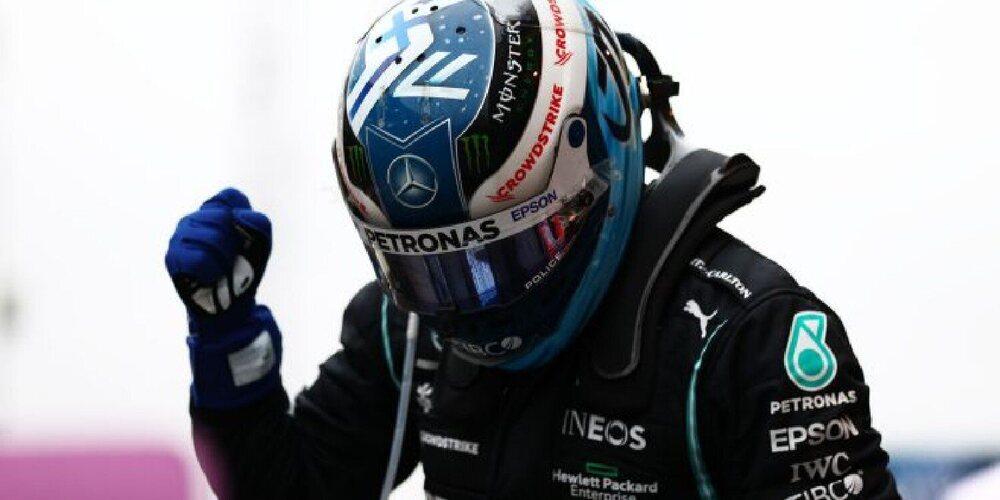 La mejor versión de Valtteri Bottas apareció en Turquía para llevarse la victoria