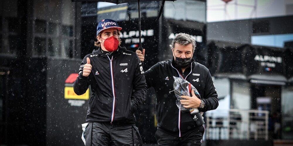"""Fernando Alonso: """"Hoy ha sido de mala suerte, era difícil ver a todos en esas condiciones"""""""
