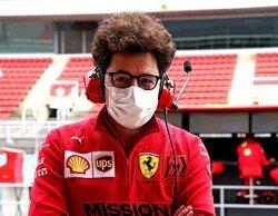 Derrotar a McLaren y lograr el tercer puesto en Constructores es el objetivo para Ferrari, afirma Binotto