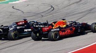 "Lewis Hamilton: ""Pensé por un segundo que podríamos ganar, pero Red Bull tenía ventaja"""