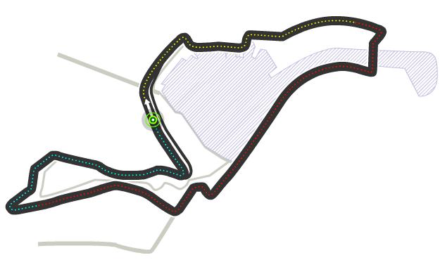 Trazado de Valencia Street Circuit